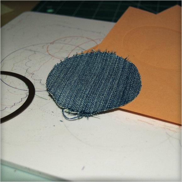 Cutting Fabric with Spellbinders Dies - Denim