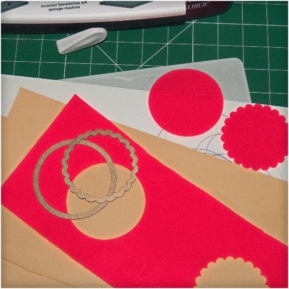 Cutting Fabric with Spellbinders Dies - Felt