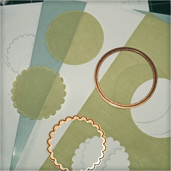 Cutting Fabric with Spellbinders Dies - Polycotton