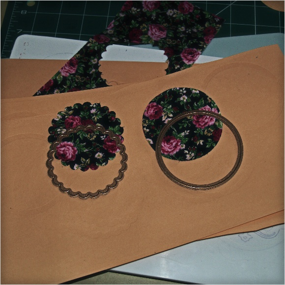 Cutting Fabric with Spellbinders Dies - Quilting Cotton