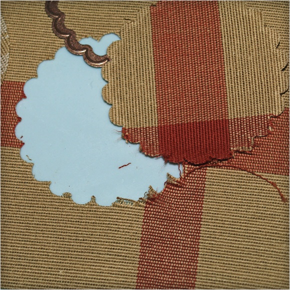 Cutting Fabric with Spellbinders Dies - Upholstery 2