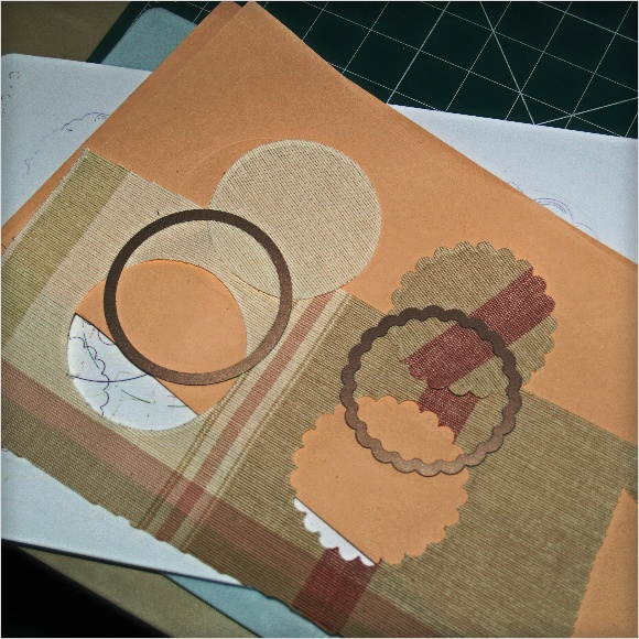 Cutting Fabric with Spellbinders Dies - Upholstery 3