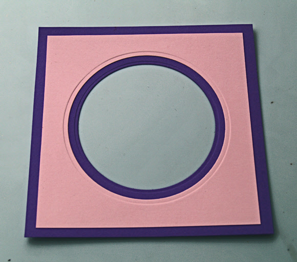 Spellbinders Circle Savvy Part 1 - Creating Frames Result