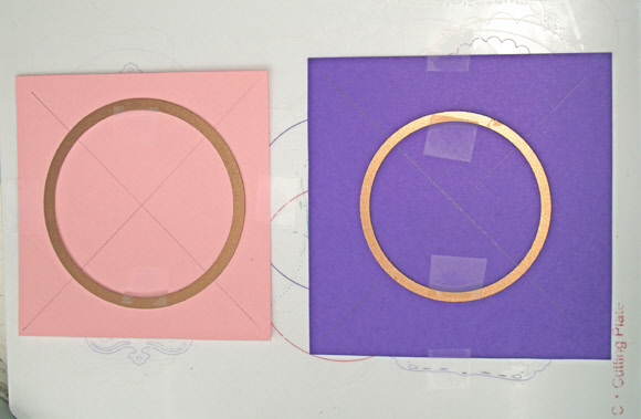 Spellbinders Circle Savvy Part 1 - Creating Frames Set Up