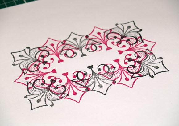 Inkadinkado Stamping Gear - Rectangular Design