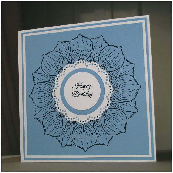 Inkadinkado Stamping Gear Step by Step Techniques - Masking - Complete Card