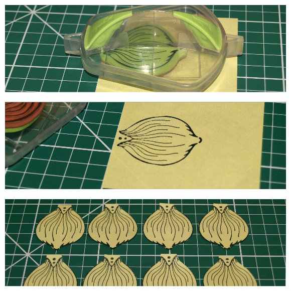 Inkadinkado Stamping Gear Step by Step Techniques - Masking - Creating the Mask