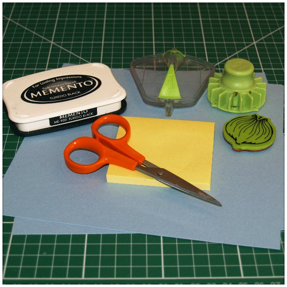 Inkadinkado Stamping Gear Step by Step Techniques - Masking - Tools and Materials