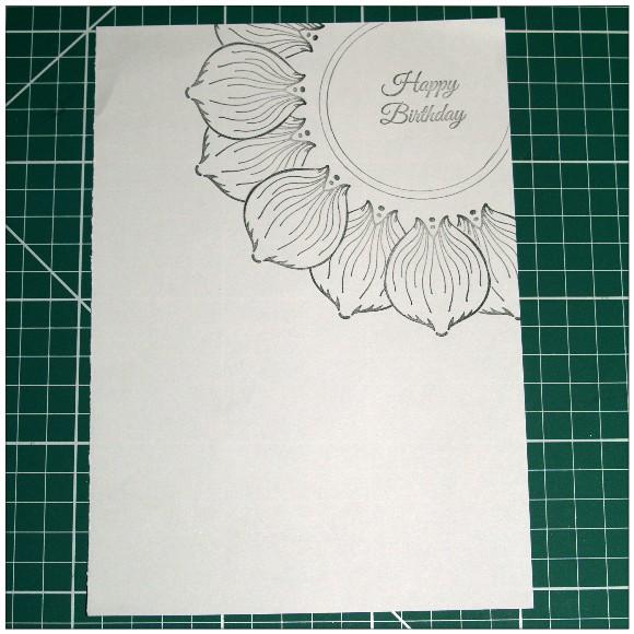 Inkadinkado With Love Card - Layout Idea