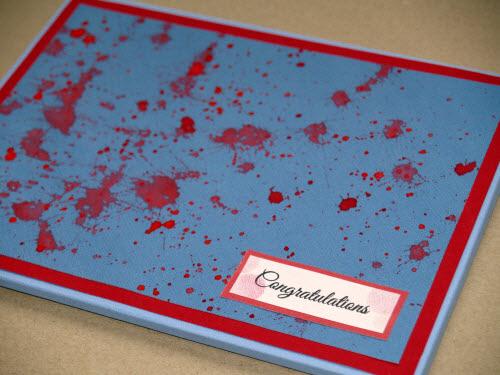 Zombie Greeting Card Envelope Box