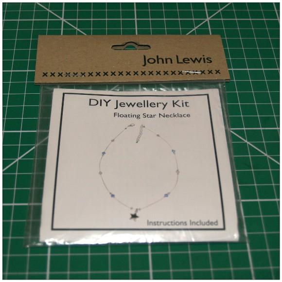 Handmade Crystal Necklace Kit