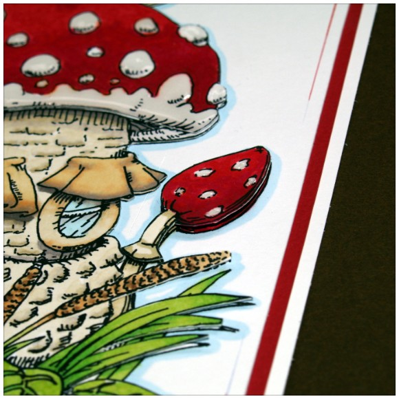 Mushroom House Digi Stamp Layers
