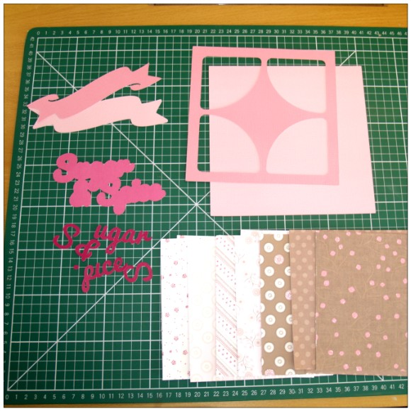 Sugar and Spice Card - Components
