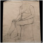Portfolio Archive - Life Drawing - Female Model 2