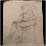 Portfolio Archive - Life Drawing - Female Model 2