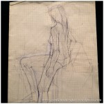 Portfolio Archive - Life Drawing - Female Model 3