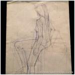 Portfolio Archive - Life Drawing - Female Model 3