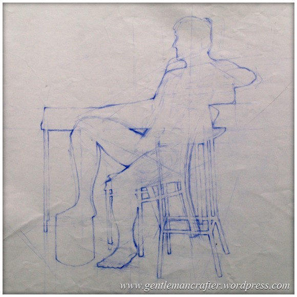Portfolio Archive - Life Drawing - Male Model