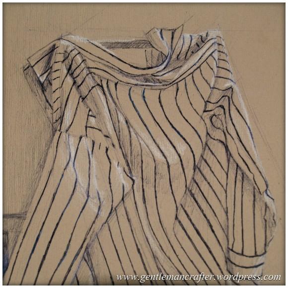 Portfolio Archive - Still Life - Shirt On Chair Close Up