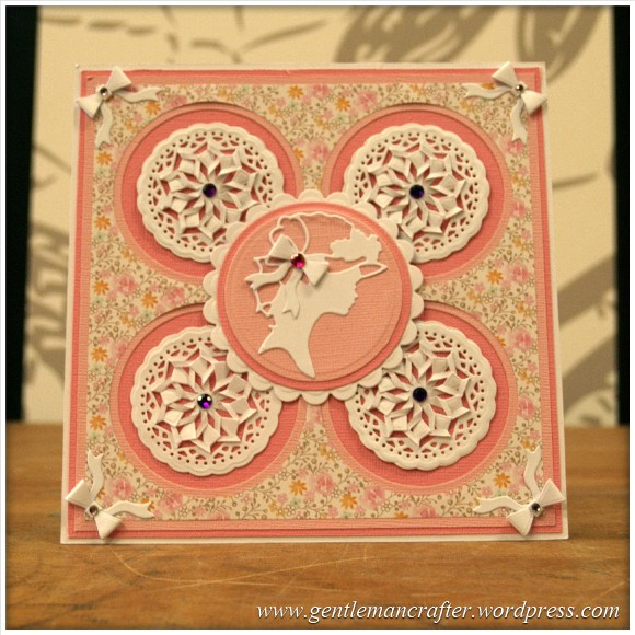 Spellbinders Show Sample 3 - Whirl About Cut Tuck and Fold