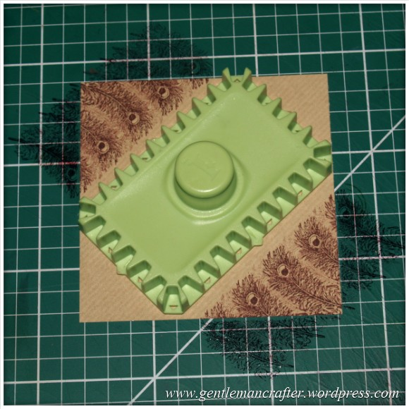 Inkadinkado Stamping Gear - Working With Squares and Rectangles - Diagonal Rectangle 1