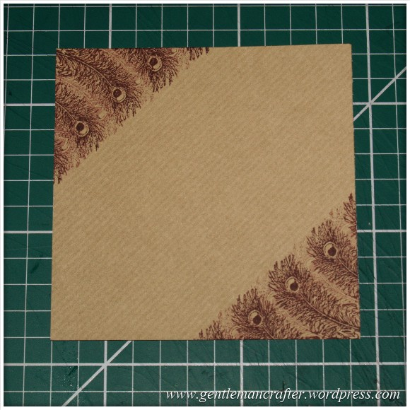 Inkadinkado Stamping Gear - Working With Squares and Rectangles - Diagonal Rectangle 2