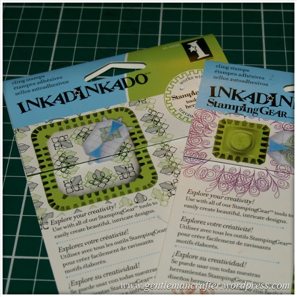 Inkadinkado Stamping Gear - Working With Squares and Rectangles - Stamp Packaging