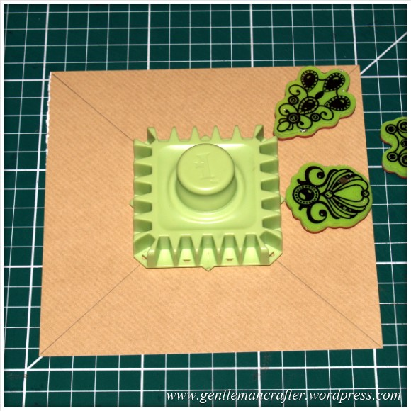 Inkadinkado Stamping Gear - Working With Squares and Rectangles - Straight Aligned - Stage 1
