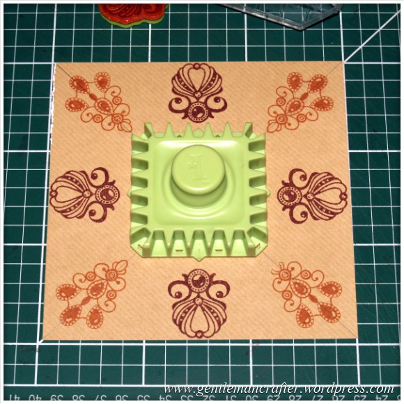 Inkadinkado Stamping Gear - Working With Squares and Rectangles - Straight Aligned - Stage 3
