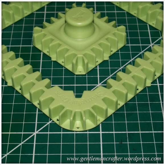 Inkadinkado Stamping Gear Square Cog and Wheel