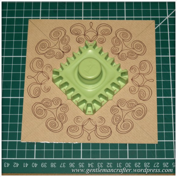 Inkadinkado Stamping Gear - Working With Squares and Rectangles - Twisted - Stage 2