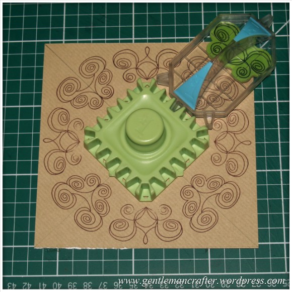 Inkadinkado Stamping Gear - Working With Squares and Rectangles - Twisted - Stage 3