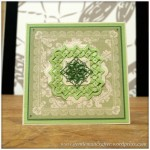 Spellbinders Show Sample 6 Folded Lace Die Set