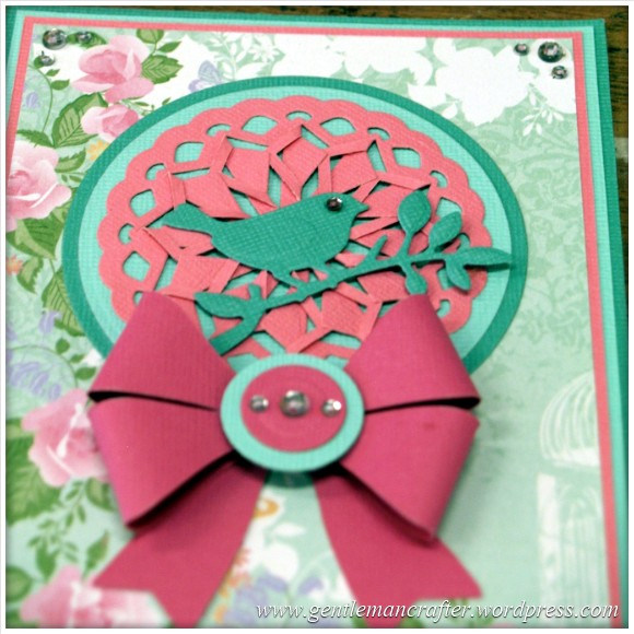 Spellbinders Show Card No 5 Whirl About Cut Tuck And