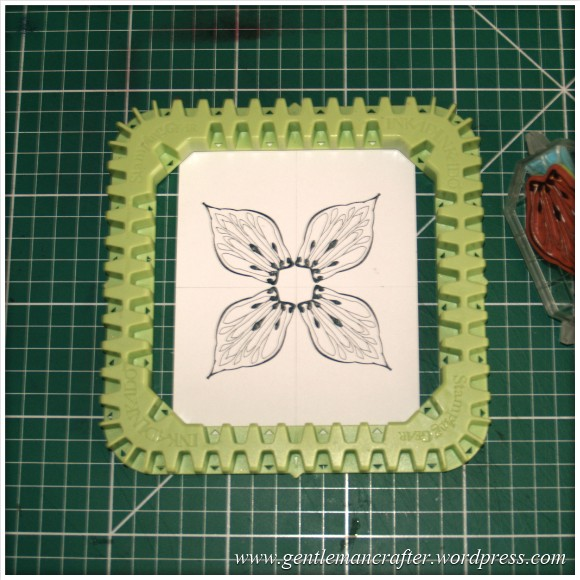 Making Dimensional Flowers with Inkadinkado Stamping Gear - (2)