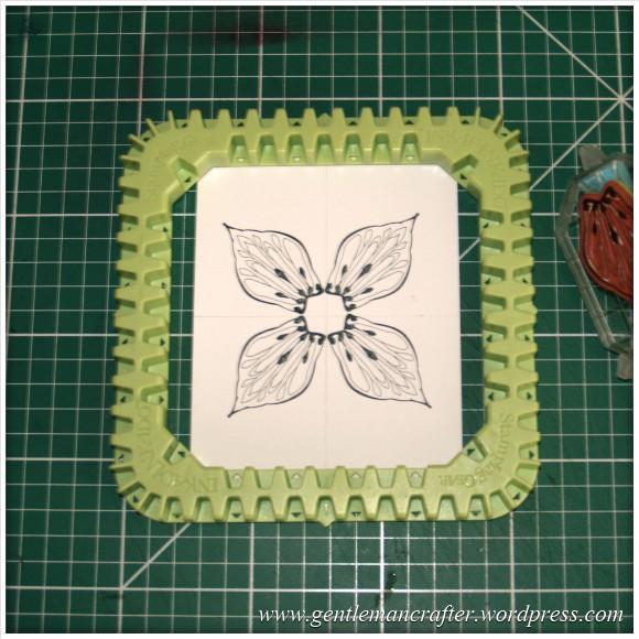 Making Dimensional Flowers with Inkadinkado Stamping Gear - (2)