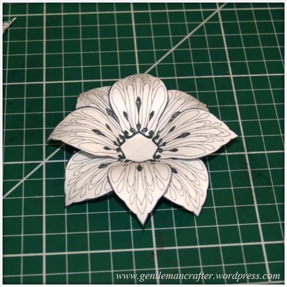Making Dimensional Flowers with Inkadinkado Stamping Gear - (5)