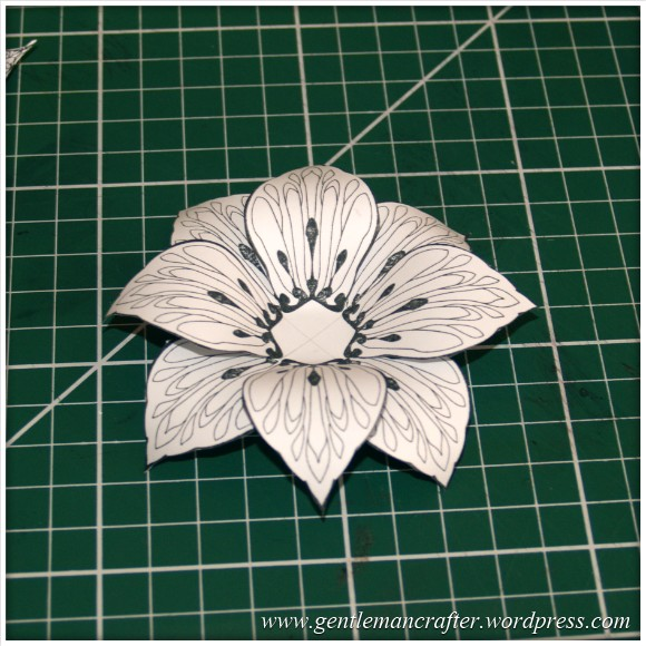 Making Dimensional Flowers with Inkadinkado Stamping Gear - (5)