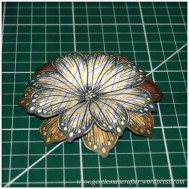 Making Dimensional Flowers with Inkadinkado Stamping Gear - (9)