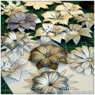 Making Dimensional Flowers with Inkadinkado Stamping Gear - Featured Image