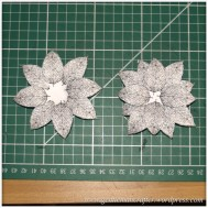 Making Dimensional Flowers with Inkadinkado Stamping Gear - Finished Flower - 1
