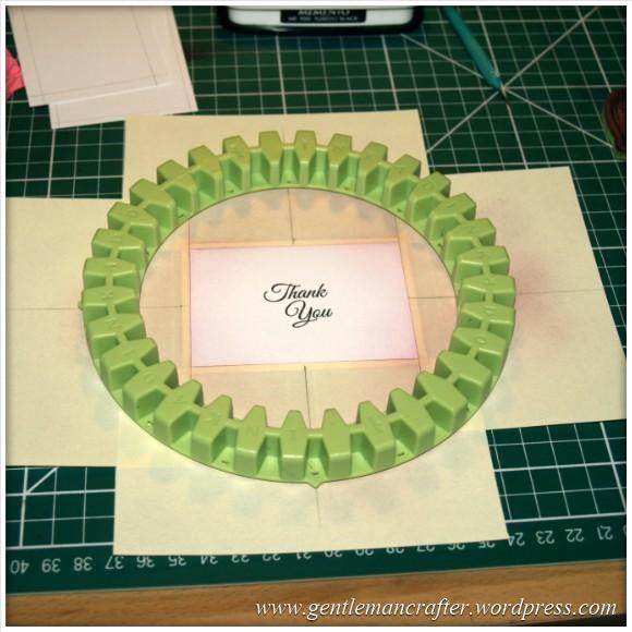 Mini Makes with Inkadinkado Stamping Gear - Circle - 2