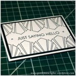 Mini Makes with Inkadinkado Stamping Gear - Finished Project - 1