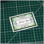 Mini Makes with Inkadinkado Stamping Gear - Finished Project - 2