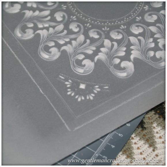 Parchment Craft With The Inkadinkado Stamping Gear - 3