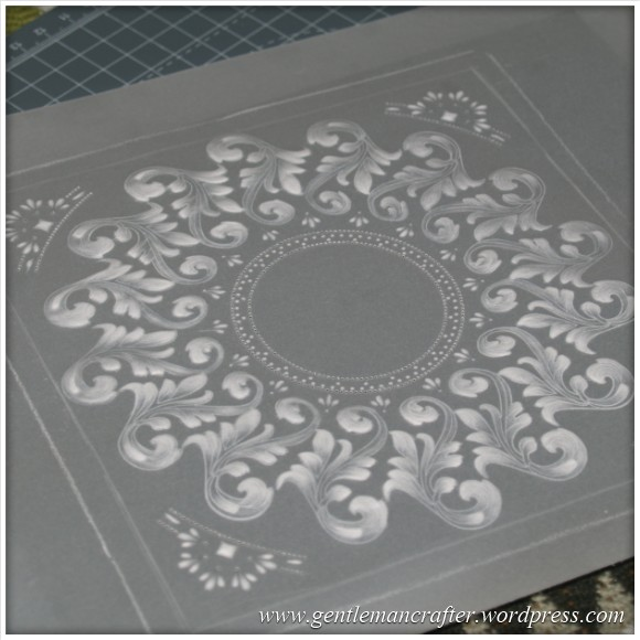 Parchment Craft With The Inkadinkado Stamping Gear - 4