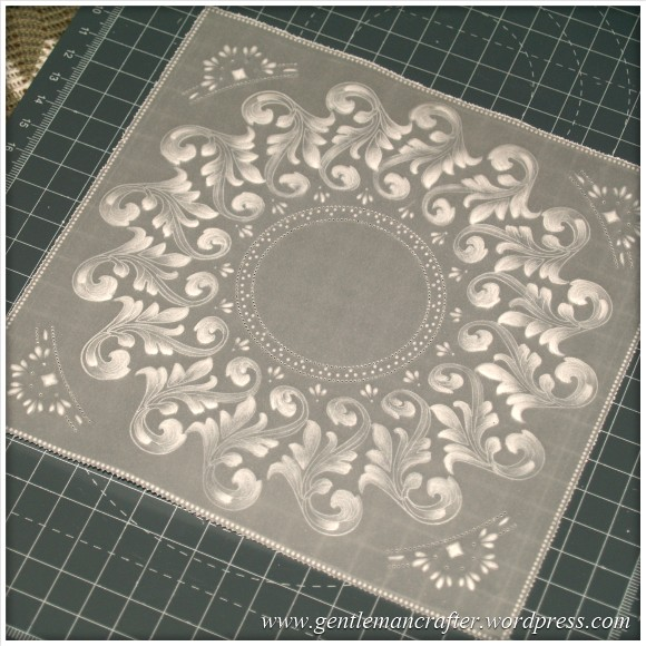 Parchment Craft With The Inkadinkado Stamping Gear - 6