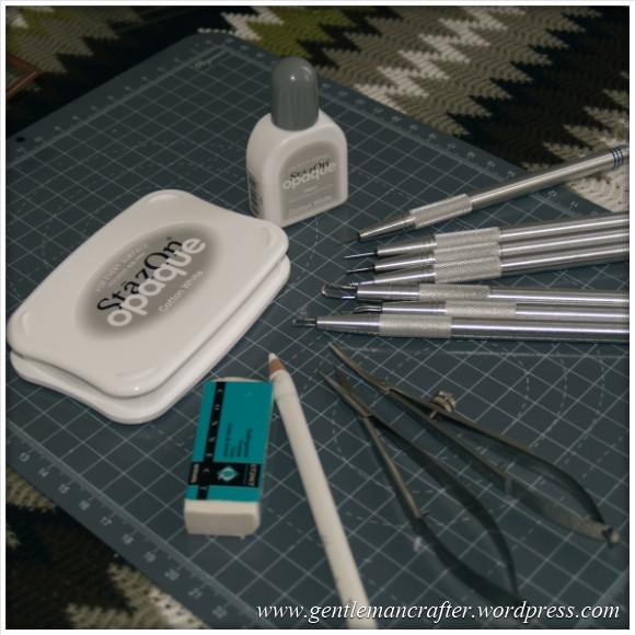Parchment Craft With The Inkadinkado Stamping Gear - Tools
