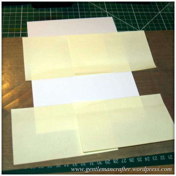 Simple Single Layer Stamping With Inkadinkado Stamping Gear - 2