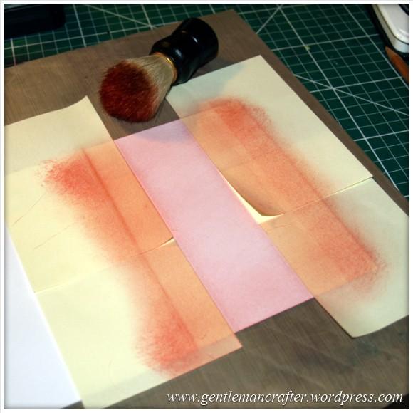 Simple Single Layer Stamping With Inkadinkado Stamping Gear - 4